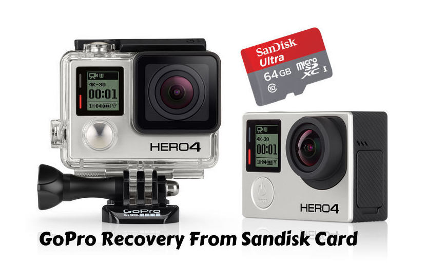 GoPro Recovery From Sandisk Card